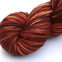 SALE: Bark - Superwash Bluefaced Leicester 4-ply yarn