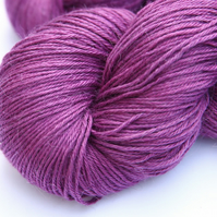 Captivated - Silky Baby alpaca 4-ply yarn