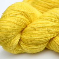 Lemon Juice - Bluefaced Leicester Laceweight yarn