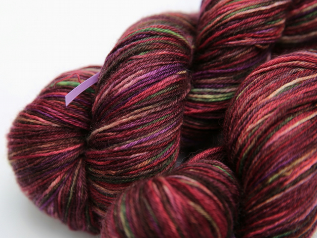 Highland Fling - Superwash Bluefaced Leicester 4-ply yarn
