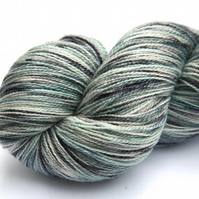 SALE: Icy Rock - Superwash Silky Bluefaced Leicester laceweight yarn