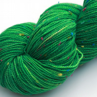 Wildflower Lawn - Superwash neppy 4 ply yarn