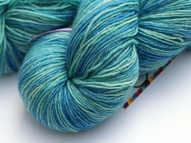 Shallow Water - Superwash Bluefaced Leicester 4 ply yarn