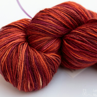 SALE: Warm Welcome - Superwash Bluefaced leicester 4 ply yarn