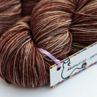 SALE: Woodlouse - Superwash merino yak nylon 4 ply yarn
