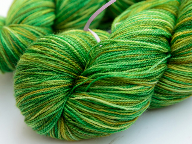 Botanical - Superwash merino-bamboo laceweight yarn