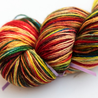 SALE: Primary - Superwash Bluefaced Leicester 4 ply yarn
