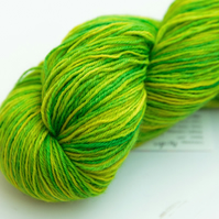 Acidic - Superwash Bluefaced Leicester 4 ply yarn