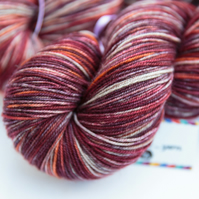 SALE: Firelight - Superwash merino yak nylon 4 ply yarn