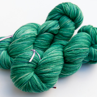 SALE: Hot Springs - Silky Superwash Bluefaced Leicester laceweight yarn