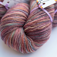 Heather Tweed - Bluefaced Leicester laceweight yarn
