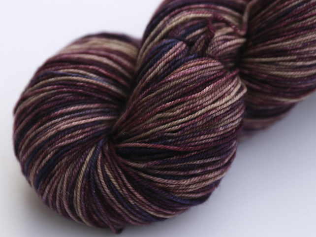 SALE: Distraction - Superwash merino yak nylon 4 ply yarn