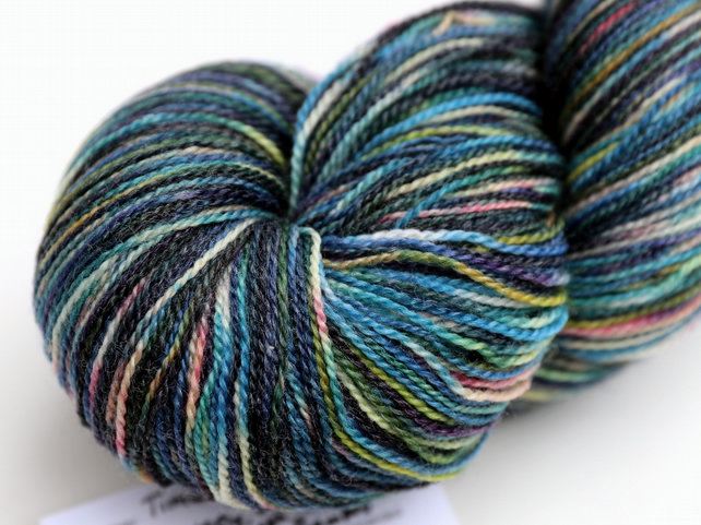 Time Traveller - Superwash merino-bamboo laceweight yarn