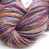Showers at Sunrise - Superwash bluefaced leicester 4 ply yarn