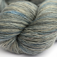 Cloudy Day - Superwash Bluefaced Leicester laceweight yarn