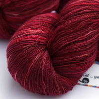 Rubies - Superwash Bluefaced Leicester laceweight yarn