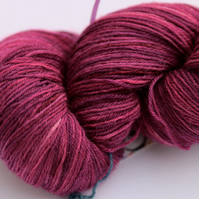 City of Roses - Superwash Bluefaced Leicester 4 ply yarn