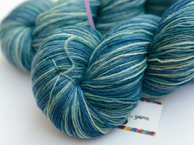 Ice Floe - Superwash Bluefaced Leicester 4 ply yarn