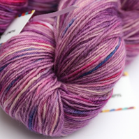 Delicate - Superwash Bluefaced Leicester 4 ply yarn