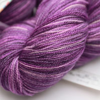 Spirals - Silky Superwash Bluefaced Leicester laceweight yarn