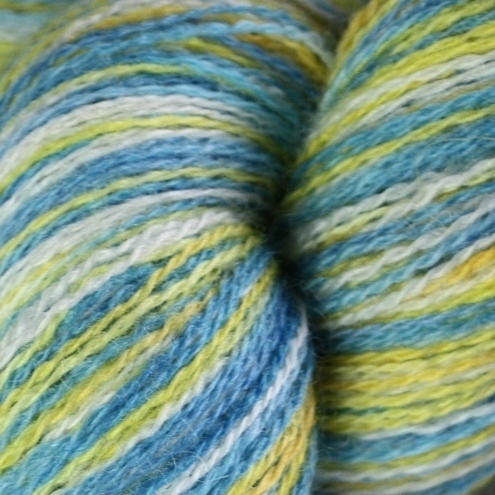 SALE A Fine Day - Bluefaced Leicester laceweight yarn