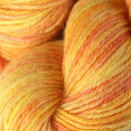 REDUCED - Sunny - DK Bluefaced Leicester yarn