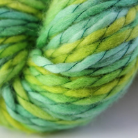 SALE Ferns - Chunky merino wave wrap yarn