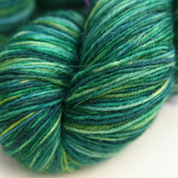 SALE Mr Froggie - superwash Bluefaced Leicester 4-ply yarn