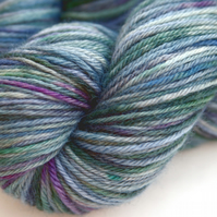Ghostly - Superwash Bluefaced Leicester DK yarn
