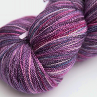 SALE - Bouquet - Superwash merino bamboo laceweight yarn
