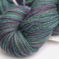 Mellow Days - Superwash Bluefaced Leicester laceweight yarn