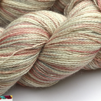 Dappled - Silky baby alpaca laceweight yarn