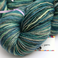 Lockdown Days - Superwash Bluefaced Leicester 4-ply yarn