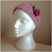 Hairband and Ear Warmer with FREE detachable Felt Ball Brooch