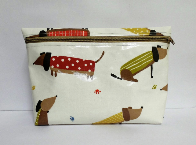 40744a985e60 John Lewis oilcloth Purse.Toiletries Washbag Na... - Folksy