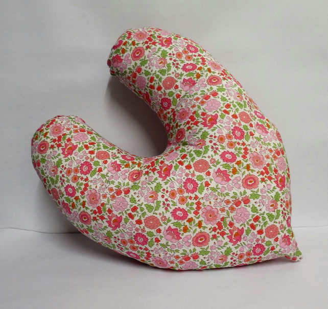 Mastectomy Post Op Pillow Cancer Cushion Heart Shaped Liberty of London