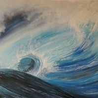 Power of the sea painting