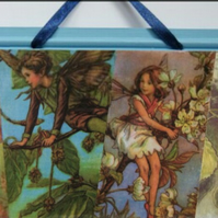 Four fairies wall hanging
