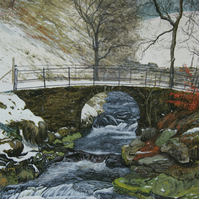 Crimsworth Beck print