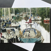 Lydney harbour card