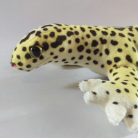 Leopard Gecko Plushie - Wild Natural Morph