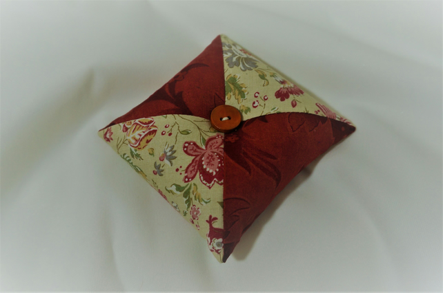 Patchwork Pin Cushion, Pincushion,
