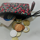 Handmade Quilted Coin Purse, Zipper Pouch, Zipped Purse