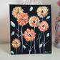 Autumn Flowers In Acrylics Canvas Board Original Painting ladydarinefinecraft