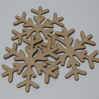 Large mdf snowflakes