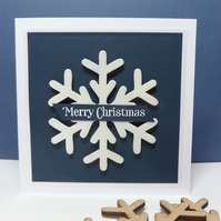 Big Snowflake Card