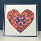 Patterned Heart Card