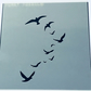 Birds in Flight Stencil