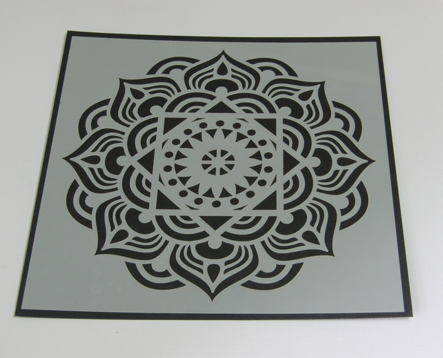 Beautiful Mandala Stencil