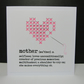 Mothers Day Card - Cross Stitch Heart